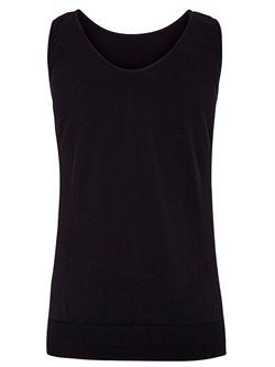 Sort seamless top til yoga og pilates fra Bella Beluga