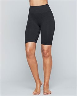 Sort Seamless Biker Shorts Moonchild